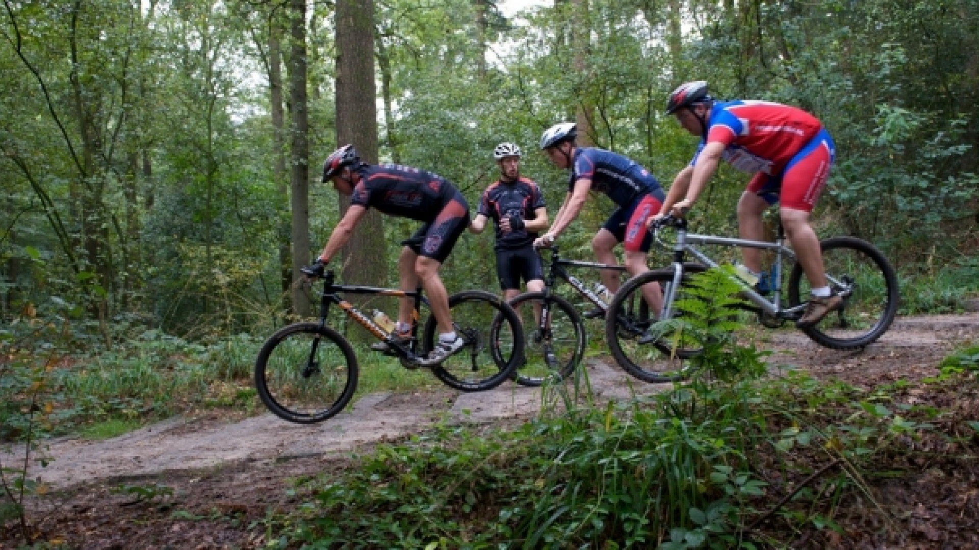 Intermediate mountainbike clinic