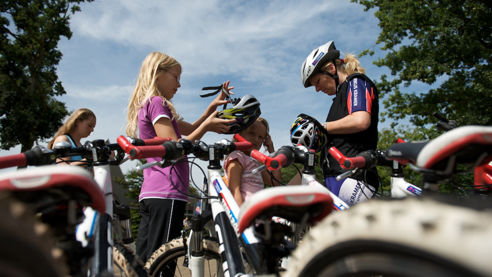 Beginner mountainbike clinic ouder en kind 3 mei